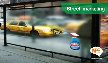 Street marketing Windex ®