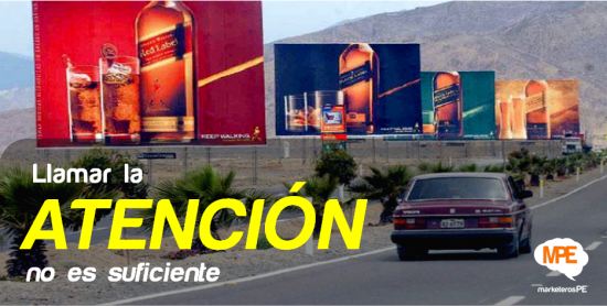 Atención - MarketerosPE - Carlos Mellado G