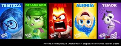 Personajes-intensamente-pelicula - Disney