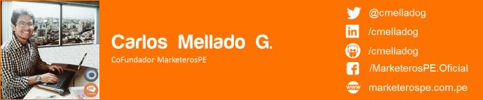 MarketerosPE-Carlos Mellado G-Marketing