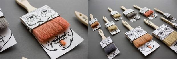 El-moustache-Packaging-de-la-Brocha-innovador-envase