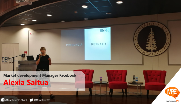 Alexia Saitua, Market Development Manager de Facebook